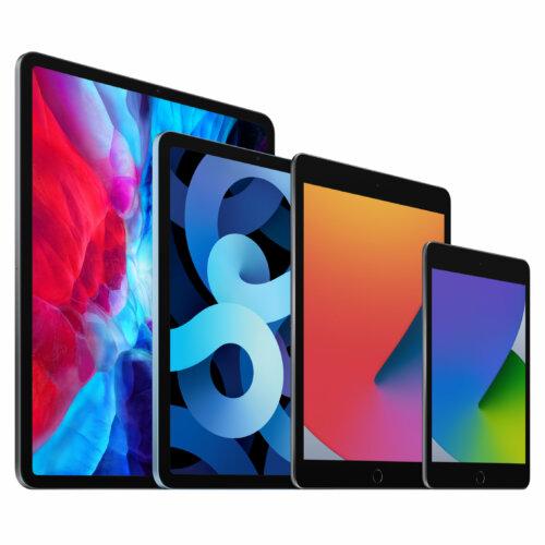 iPad_Pro_Space_Gray_iPad_Air_Sky_Blue_iPad_Space_Gray_iPad_Mini_Space_Gray_Family_4-Up_Screen__USEN